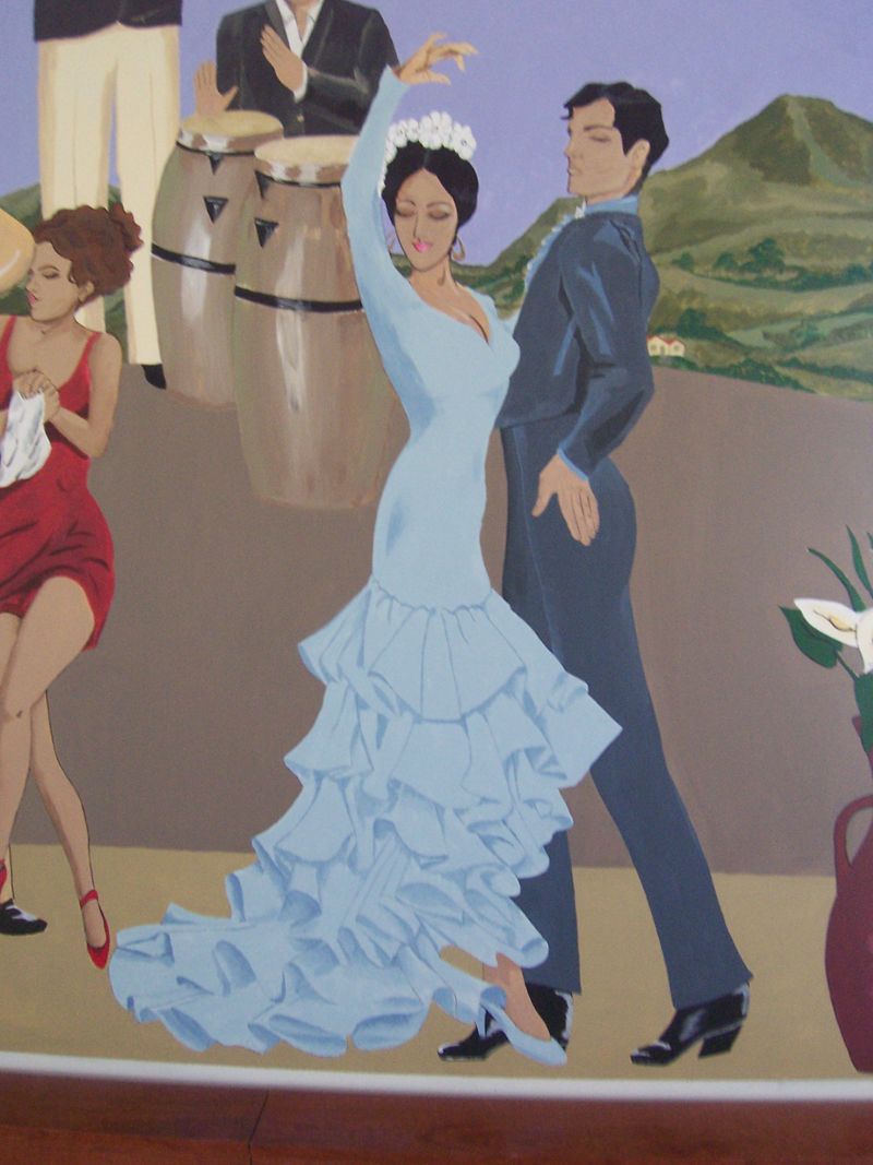 Decrative paiinting murals central valley imagine a mural for Corporate mural