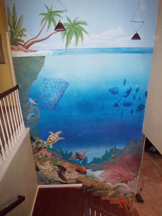 Large murals 2017 grasscloth wallpaper for Beach scene mural